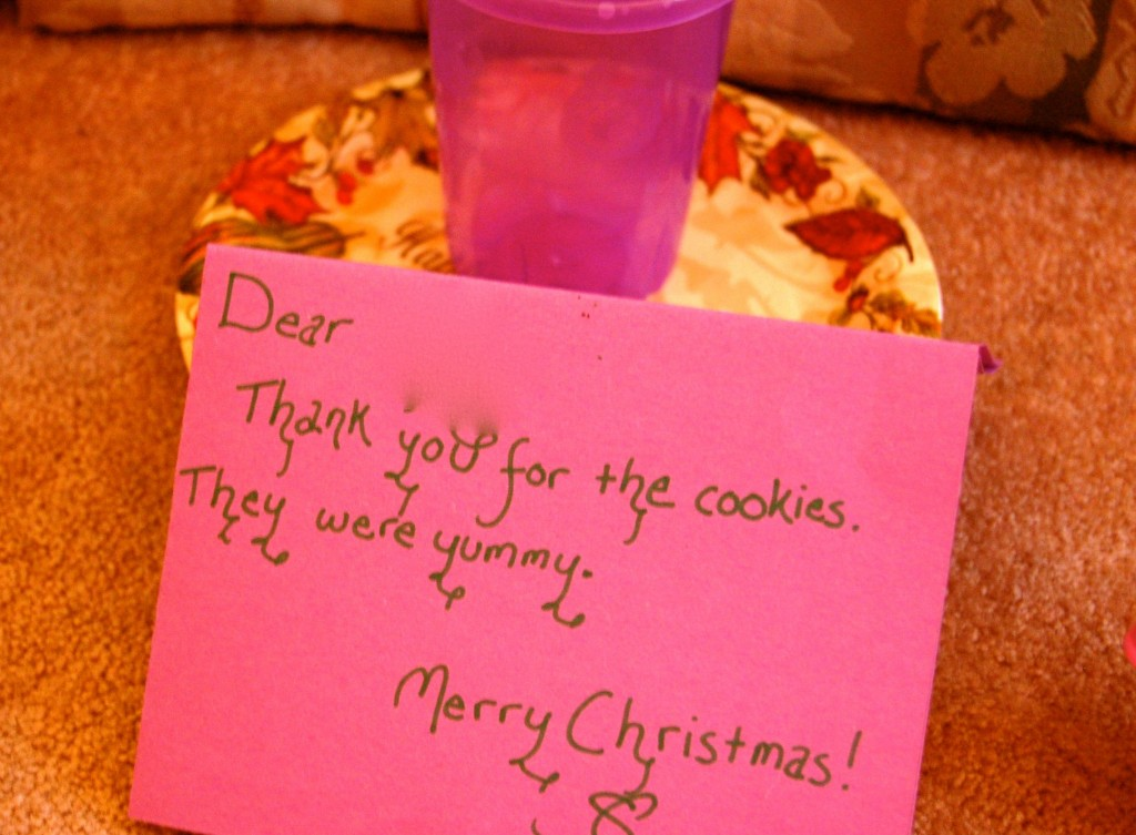 note from santa
