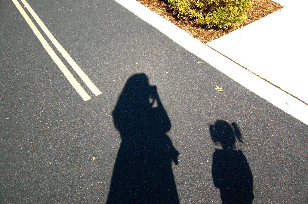 Baby and me shadows