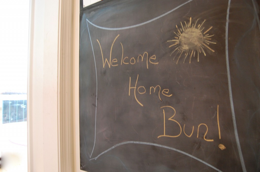 welcome home bun