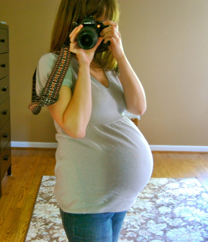 me and pregnant belly