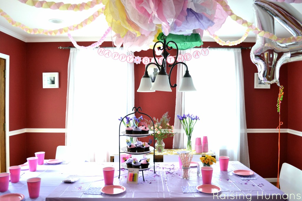fairy princess party room