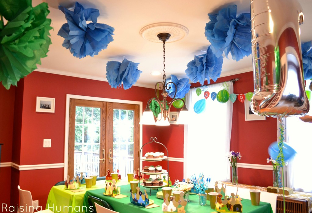 where the wild things are party room