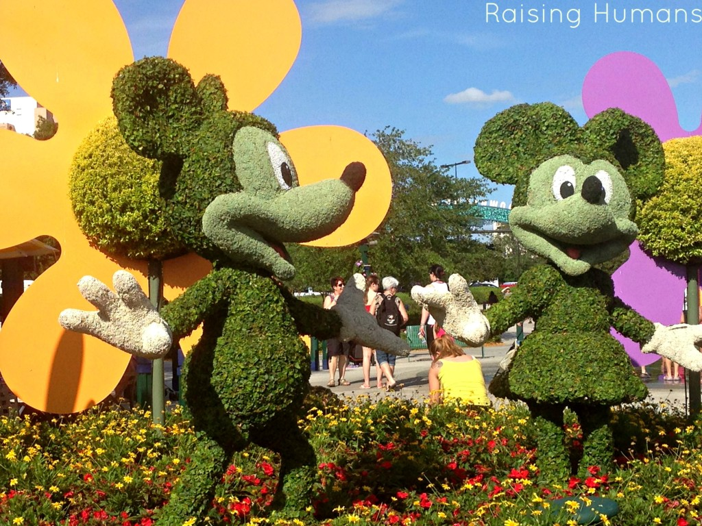 mickey and minnie mouse trees
