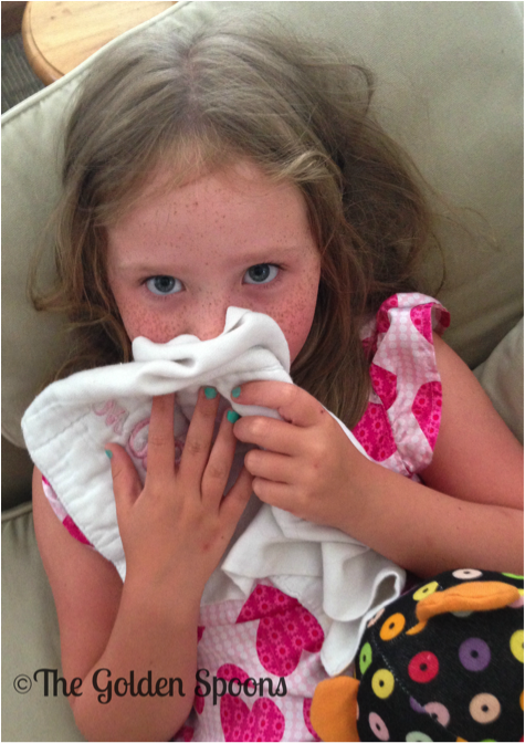 girl and blankie