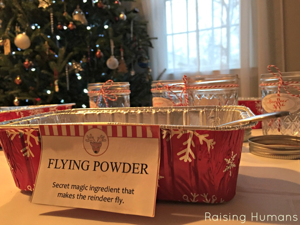 flying powder