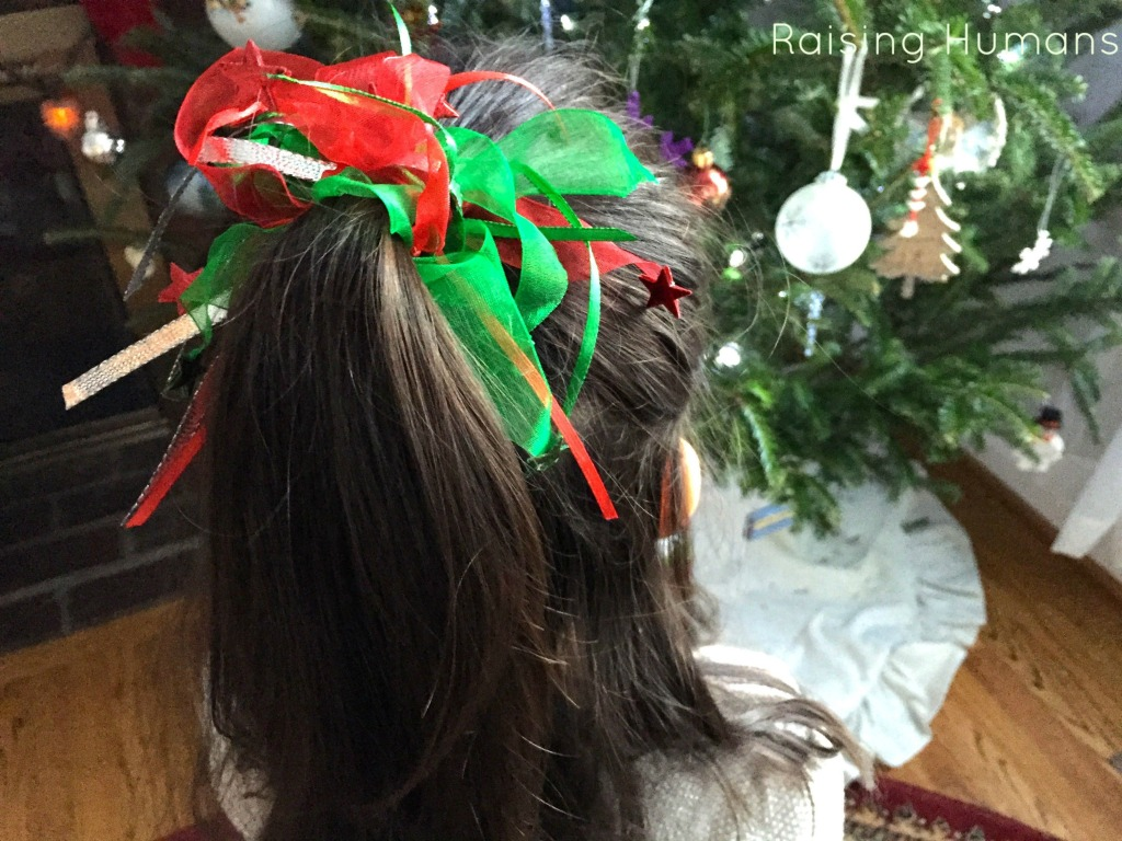 holiday hair
