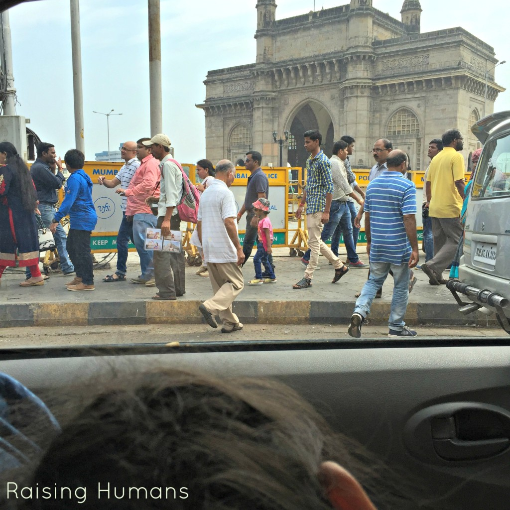 crowded bombay